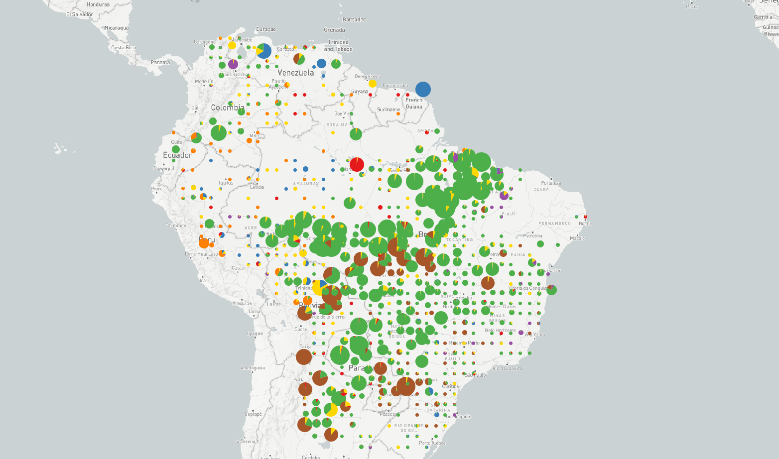 Image of Drivers South America dataset